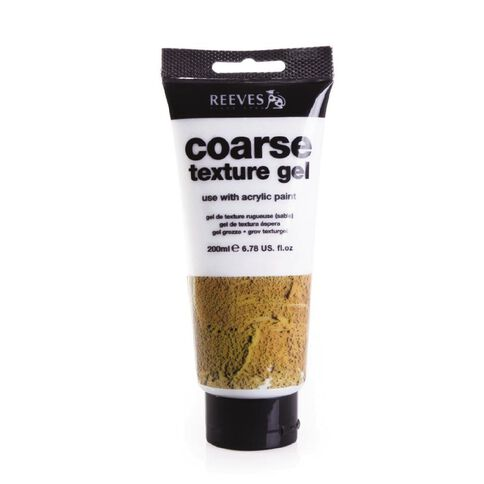 Reeves Coarse Texture Gel 200ml