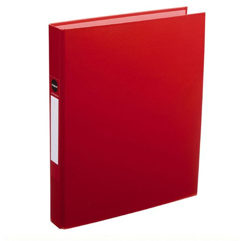 Impact Ringbinder 2D 25mm Red A4