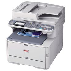 OKI Mc562Dnw Colour Laser Multifunction White