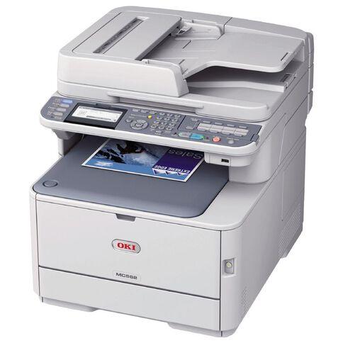OKI Mc562Dnw Colour Laser Multifunction White