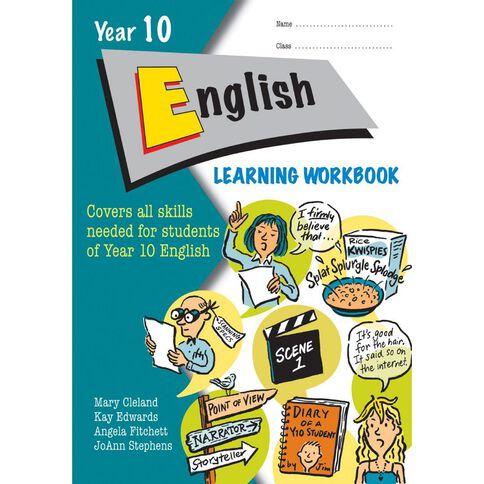 English Year 10 Learning Workbook