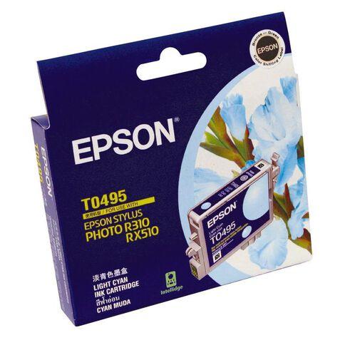 Epson T0495 Light Ink Cartridge Cyan