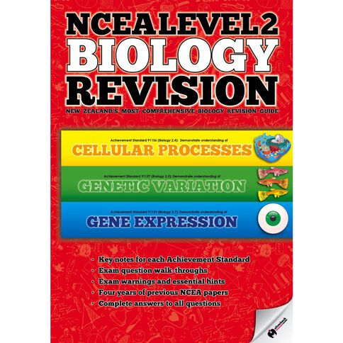 Ncea Year 12 Biology Revision