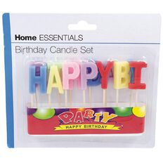 Home Essentials Happy Birthday Candle Piece