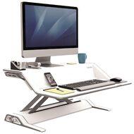 Fellowes Lotus Sit Stand Desk White