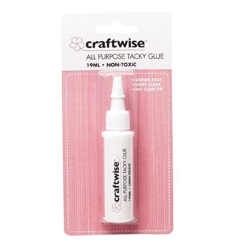 Think Creative All Purpose Tacky Glue 19ml Clear