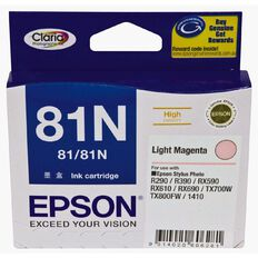 Epson Ink Cartridge 81N Light Magenta