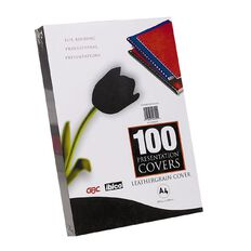 Ibico Binding Cover 300gsm 25 Pack Black