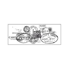Kaisercraft Clear Stamps 50 x 130mm Texture Postmarks