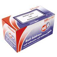 Quik Stik Labels Mr3870 38 x 70mm 100 Pack Border Blue