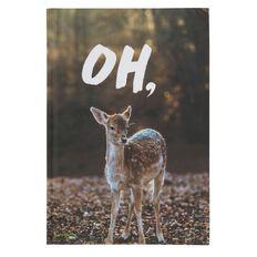 Banter Oh Deer Hardcover Notebook A5