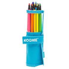 Kookie 18 Washable Fibre Pens With Carry Case