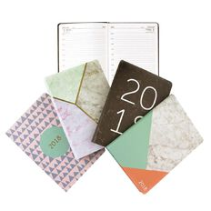 Dats 2018 Diary Dtp Soft PU Feel A4