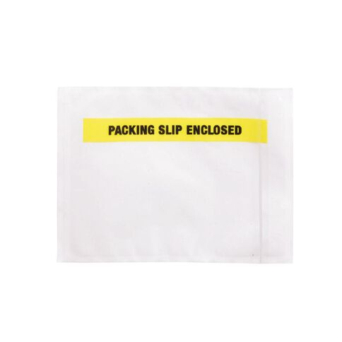 Packing Labelopes Packing Slip Enclosed 100 Pack White