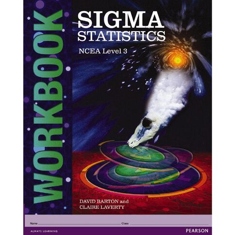 Ncea Year 13 Sigma Statistics Mathematics Workbook