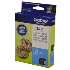Brother Ink Cartridge LC233 Cyan