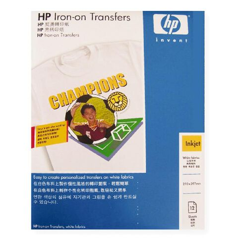 HP Transfer Iron On C6065A 12 Pack