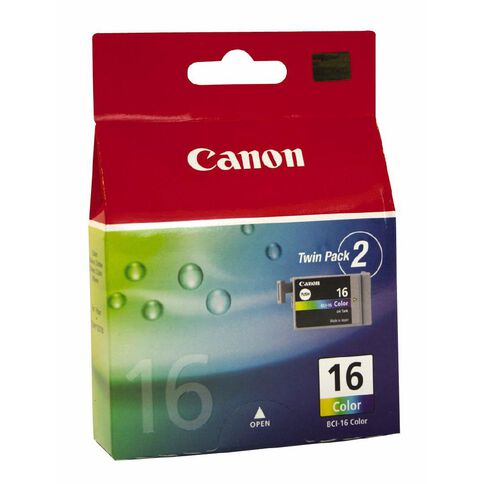 Canon Ink Cartridge BCI16 2 Pack