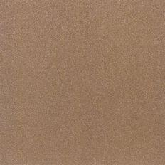 American Crafts Cardstock Glitter Fine 12 x 12 Caramel Brown