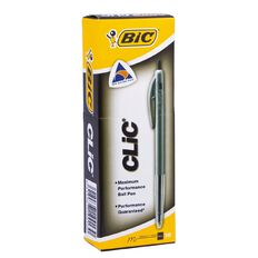 Bic Clic Pen 2000 10 pack Black
