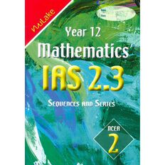 Nulake Year 12 Mathematics Ias 2.3 Sequences And Series