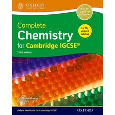 Igcse Year 11 Chemistry Complete Chemistry Student Book