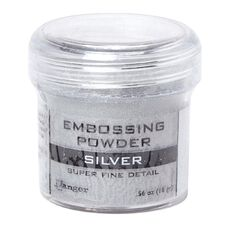 Ranger Embossing Powder Silver Super Fine