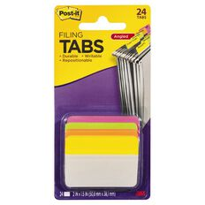Post-It Filing Tabs 50.8mm x 38.1mm 686A-Ploy