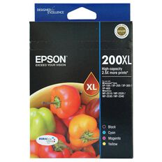 Epson Ink Cartridge 200XL Value 4 Pack