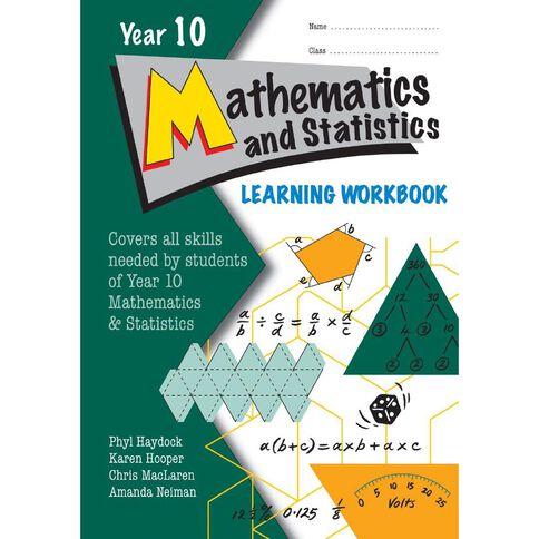 LWB Year 10 Mathematics and Statistics Learning Workbook