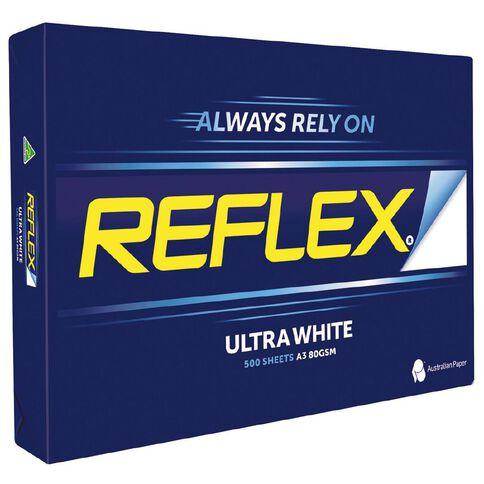 Reflex Copy Paper 80gsm 500 Pack White A3