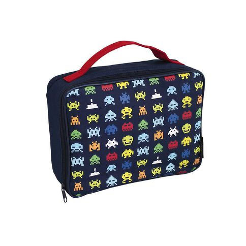 Fs Space Invaders Lunch Bag Multi-Coloured