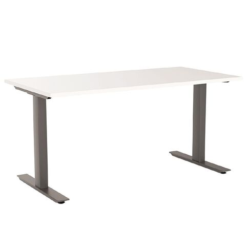 Agile 1800 Desk White/Black