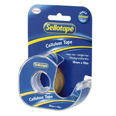 Sellotape Tape Dispenser 18mm x 10m Single Pack Clear
