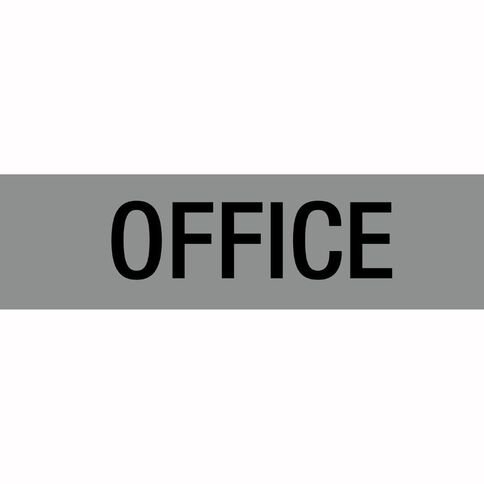 Alpi Self Adhesive Office Silver