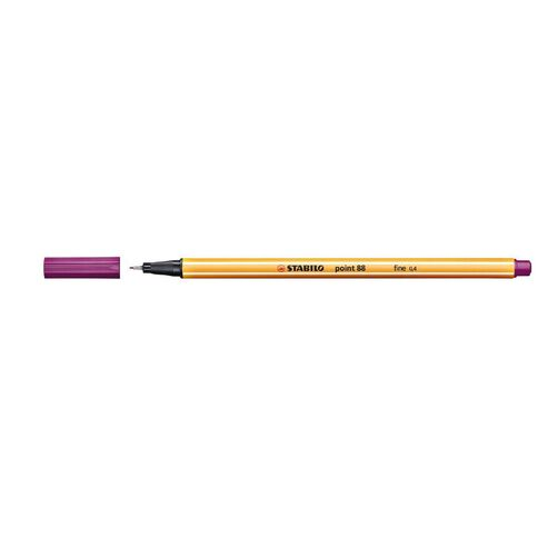 Stabilo Point 88 Fineliner 0.4mm Lilac Purple
