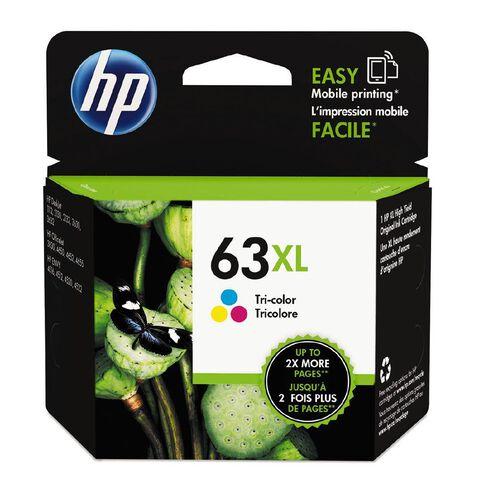 HP Ink Cartridge 63XL Multi-Coloured