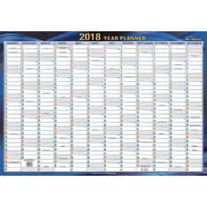 2018 Non Laminated Planner QC2 500 x 700mm