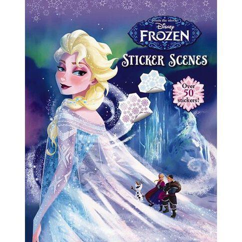 Disney Frozen Sticker Scene
