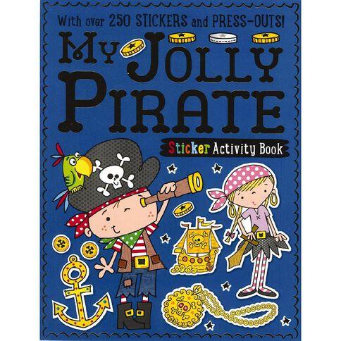My Jolly Pirate Sticker Activity Books