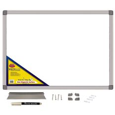 Writeraze Whiteboard 600 x 850mm White