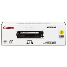 Canon Toner Cart418 Yellow