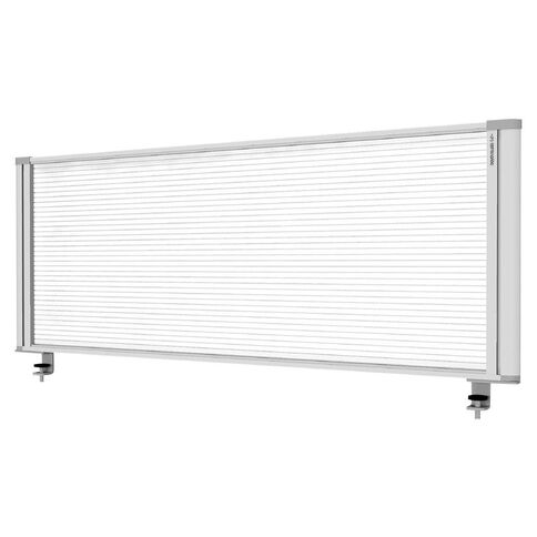 Boyd Visuals Desk Mounted Partition 1160W Polycarbonate