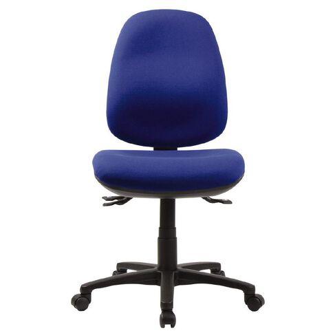 Dawell Delta Highback Chair Charade Riviera Blue