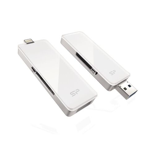 Silicon Power Z30 32Gb Lightning Usb Drive White