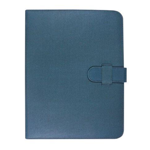 Modena Compendium Laminated Canvas Blue A4