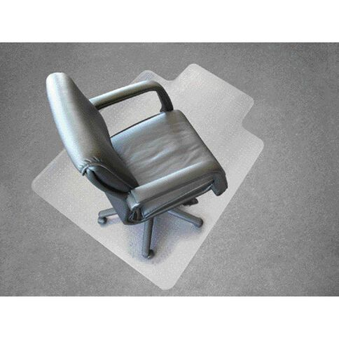 Jastek Chairmat Medium Pile 114 x 135cm White