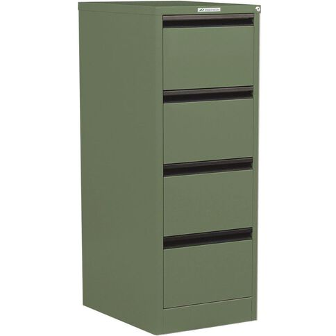 Precision Classic Filing Cabinet 4 Drawer River Gum