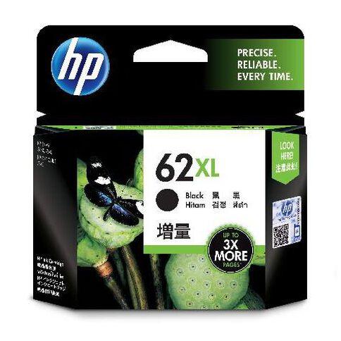 HP Ink Cartridge 62XL Black
