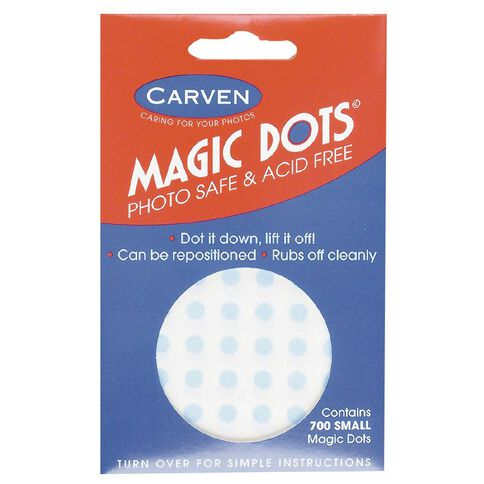Carven Magic Dots Small 5mm 700 Pack Blue